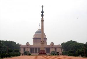 Rashtrapati Bhawan, presidentens bostad i Dehli