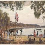 Port Jackson 1788 Algernon Talmage R.A. ML 1222 (1871 - 1939)