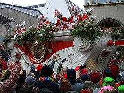 Karnevalståg i Tyskland