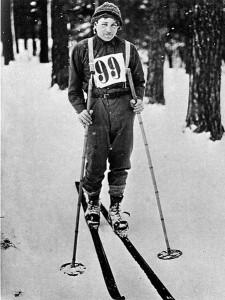 Ernst Alm, vinnare av det första Vasaloppet, 1922