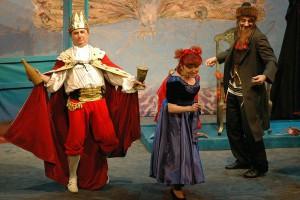 Purimföreställning på Judiska teatern i Warszawa Foto: Henryk Kotowski