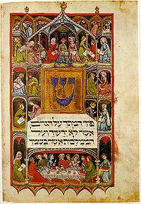 En Haggadah-bok