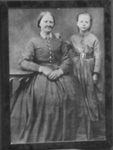 Amalia Eriksson och dottern Ida