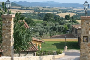 Familjen Terenzis Agriturismo utanför Scansano i Toscana Foto: Lena Ahlström