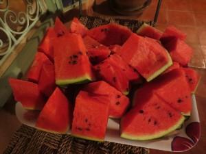 Vattenmelon från Marocko. Foto från Wikimedia Commons