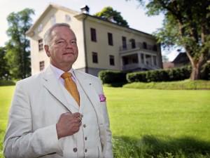 Carl Jan Granqvist vid sitt Saxå bruk Foto: Maria Dahlin