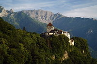Slottet i Vaduz, Liechtenstein Foto från Wikipedia