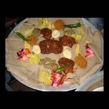 Injera - etiopiskt surdegsbröd Foto från Tasteline