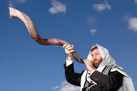 Blåsa i shofar hör även till Jom Kippur