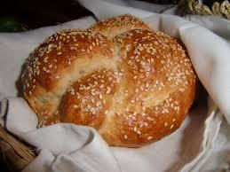 Runt Challebröd till Rosh Hashana-firandet