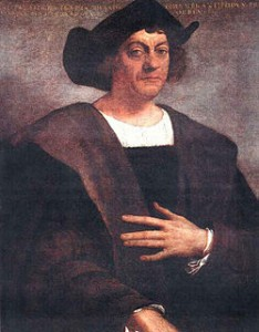 Christopher Columbus Målning av Sebastiano del Piombo.