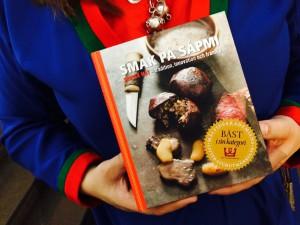 """""""Smak på Sapmi"""" - kokboken som vann klassen Regional måltidslitteratur"""