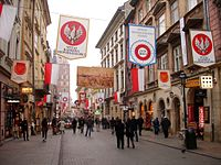 Självständighetsdagen firas i Krakow Foto från Wikipedia