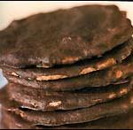 Hemgjorda Lebkuchen med chokladöverdrag