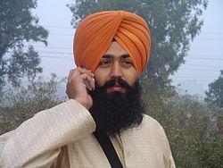 Sikhs man, bild lånad av Wikipedia