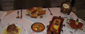 Mat från Albanien
