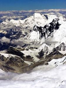 Himalayas, Tibet, världens tak. Foto från Wikipedia