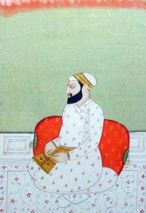 Guru Arjan, som dog martyrdöden för att han stod upp för tolerans mot alla.
