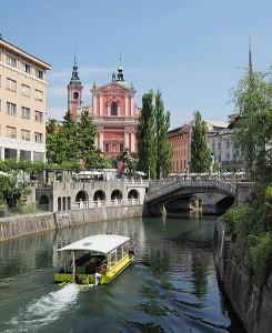 Ljubljana i Slovenien Foto: Petar Milošević
