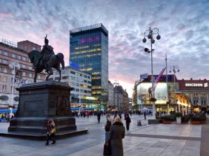 Zagreb i Kroatien Foto: Roberta F