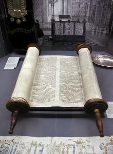 Torahrullar i en synagoga i Köln Foto: Willy Horsch