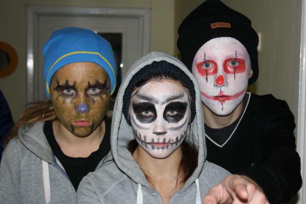 Halloweenungdomar Foto: Caroline Maino