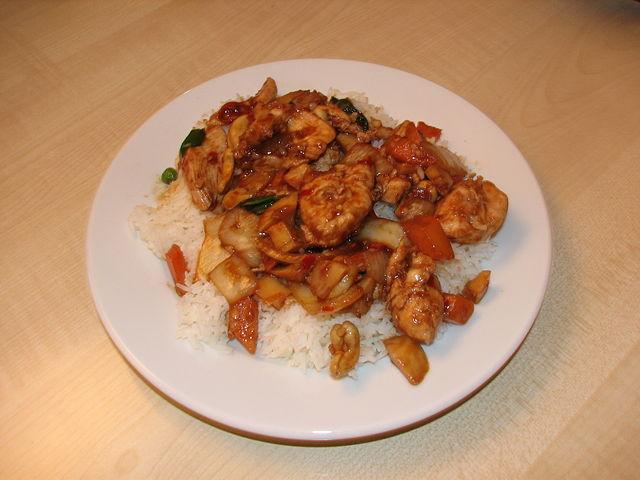 Gongbao Jiding eller Kung Pao Chicken Foto: Alexander Marks