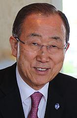 Ban Ki-moon, FNs generalsekreterare Foto: ITU Pictures