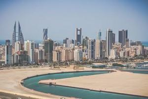 Manama, Bahrains huvudstad.