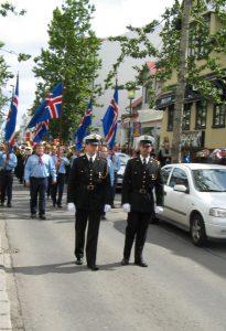 Parader är vanliga på Islands nationaldag Foto: Akigka