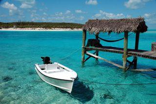 Saddleback Pier, Bahamas Foto: Jpatokal