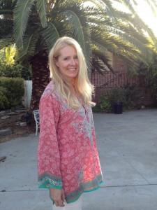 Svenska Diana Lungaeus firar gärna Thanksgiving i Los Angeles.