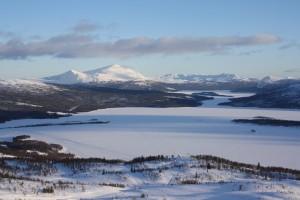 Tärnasjön ligger i Sápmi Foto: Caroline Maino
