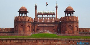 Red Fort i Dehli