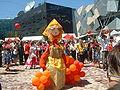 Halmdockan är en Maslenitsa-maskot från firande i Melbourne Australien. Foto från Wikimedia Commons
