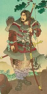 Kejsar Jimmu, detalj. Från Wikipedia