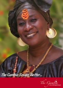 Turistaffisch för Gambia