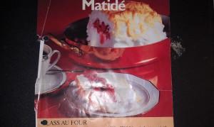Tummat recept på Glace au four