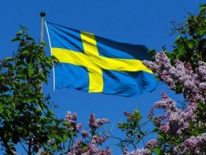Svenska flaggan Bilden lånad från wordpress.com
