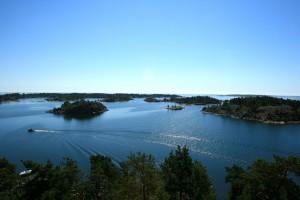 Utsikt från Gubbö kupa i Östergötlands skärgård. Foto: Lena Ahlström