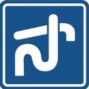Håll utkik efter symbolen som visar var det går att tömma toalettavfall. Bilden lånad från Vattenmyndigheten.se