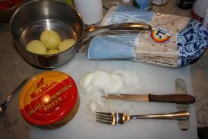 Surströmmingskit Foto: Caroline Maino