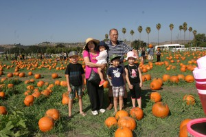 Hela familjen vallfärdar till pumpafälten för att välja den perfekta.