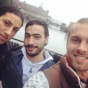 Ayman, Muhammed och Martin