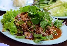Larb - Laos nationalrätt Foto från Wikipedia