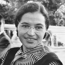 Rosa Parks 1955 Okänd Fotograf