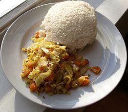 Ugali och kål