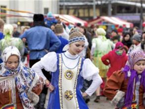 Slavisk folkfest på Serbiens nationaldag den 15 februari i Kungsträdgården i Stockholm Bilden lånad från Kungsträdgården Park & Evenemang AB