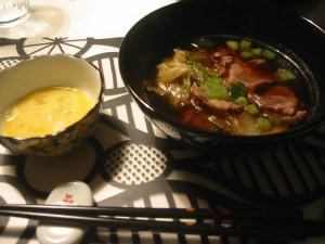 japansk middag recept