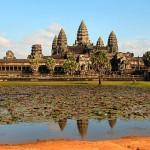 Angkor Wat finns på UNESCO:s världarvlista Foto: Bjørn Christian Tørrissen